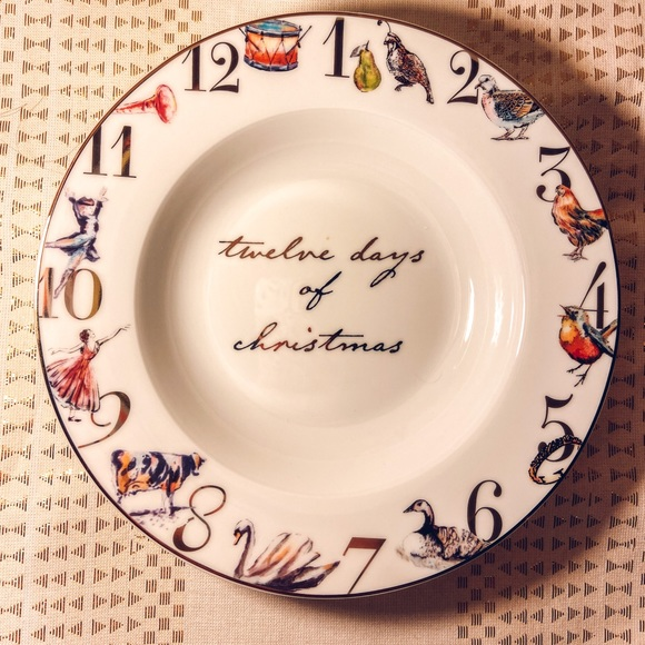 Better Homes & Gardens Holiday Edition Plate Set